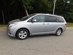 toyota minivan 2016 used toyota sienna 5dr 8 passenger van le fwd at toyota of