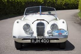 1954 jaguar xk120 competition