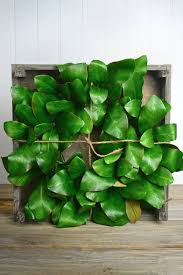 magnolia leaf wreath artificial magnolia leaf wreath