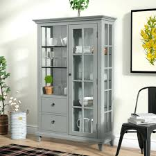 curio cabinet with light glass curio cabinet walmart with lights small cabinets cheap