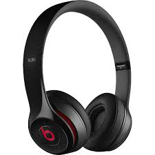 beats by dr dre solo2 wired on ear headphones black mh8w2am a