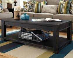 distressed black end table distressed black round coffee table coffee table