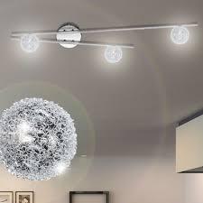 Schlafzimmer Leuchte Design Decken Lampe Draht Kugel Wohnzimmer Leuchte 3 Flammig