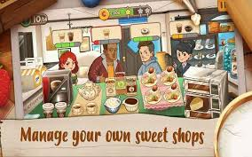 cafe apk dessert chain café waitress mod apk unlimited money 0 8 2