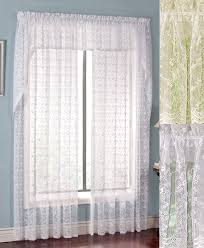 Kitchen Kitchen Curtain Sets Standard by Lace Curtains Swags Galore Curtains