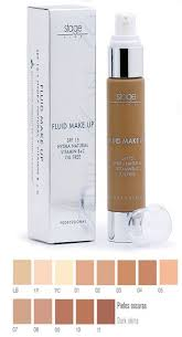 professional stage makeup stage line professional make up foundation fluid make up 50 ml