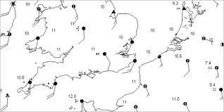 bbc gcse bitesize synoptic charts