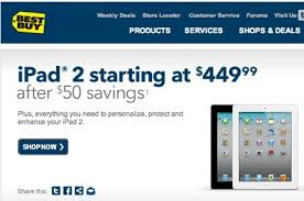 deals at best buy on black friday 2012 best buy offering 50 discount for all ipad 2 ahead of ipad 3
