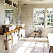 Rustic Tile Bathroom - plank bathroom floor tiles design ideas
