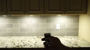 kitchen cabinet lighting images aiboo in led cabinet puck lights installation and review