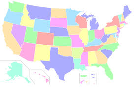 map usa color interactive us map color world maps