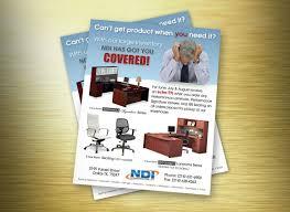 ndi office furniture promotional flyer print designs from ndi office furniture promotional flyer