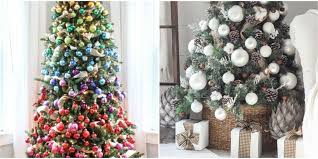 Decorated Christmas Tree Images by Modest Decoration Christmas Trees Decorations 35 Tree Ideas