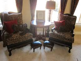 cheetah print living room decor home design