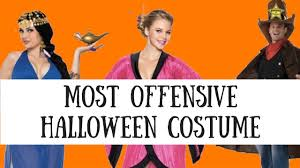 Distasteful Halloween Costumes Lets Offended Offensive Halloween Costumes