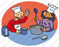 a cuisiner apprendre à cuisiner illustration libre de droit sur illustrabank com