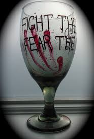wine glass sayings svg the walking dead wine glass personalized by rhondasinnovations
