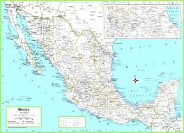 Map Of Mexico by Printable Travel Maps Of Mexico City At Printable Mexico Map