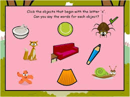 clipart of words begginning with letter s collection
