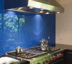 Blue Glass Kitchen Backsplash Striking Kitchen Backsplash Ideas U0026 Pictures