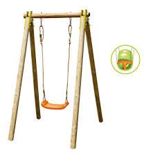 balancoire siege bebe portique évolutif 1 personne avec siège bébé inclus trigano pour
