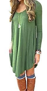 women s dresses dearcase women s sleeve casual t shirt dress at