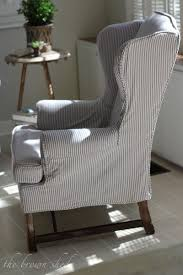 grey slipcover sofa best 25 wingback chair covers ideas on pinterest wingback