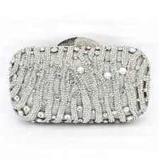 designer clutches stylish rhinestone evening bag luxury studded