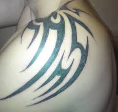 shoulder tribal tattoo by morkai999 on deviantart