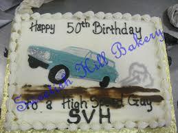 drag racing birthday cake 1 2 sheet cake with custom desig u2026 flickr