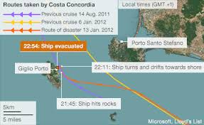 List Of Ship Sinkings by Bbc News Costa Concordia What Happened