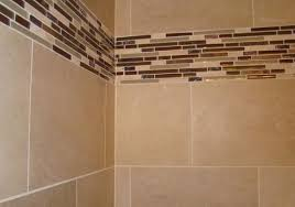 Bathroom Tile Border Ideas Tile Border Ideas Bathrooms Light Movable Wood Panel As Kitchen