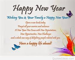 greetings happy new year wishes
