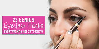 How To Pencil In Eyebrows 22 Genius Eyeliner Hacks Every Woman Needs To Know