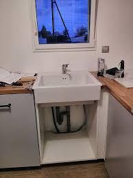 montage evier cuisine meuble sous evier cuisine ikea meuble sous evier 140 cm awesome