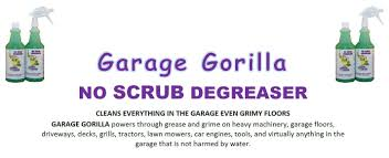 garage gorilla scrub degreaser pack amazon garage gorilla scrub degreaser pack amazon industrial scientific