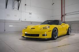 corvette zr1 yellow chevrolet c6 corvette zr1 adv05 track function cs gunmetal