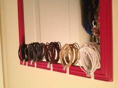 hair tie holder hair accessories organization i ve seen similar ones but