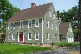 colonial home cch residential settlement traditional exterior boston by