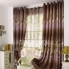 lilac bedroom curtains functional blackout bedroom curtain in brown and lilac color