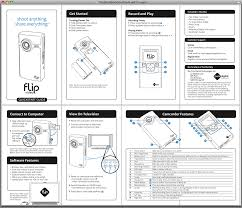 product manual graphics lesson from the flip do less and you