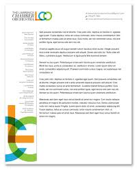 Non Profit Board Of Directors Resume Sample by The Lawrence Chamber Orchestra Identity Designojek