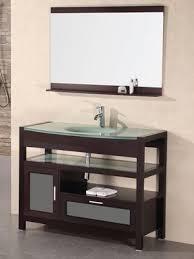 Glass Bathroom Vanity Glass Bathroom Vanity Decor Ideas Dec0252 Robinsuites Co