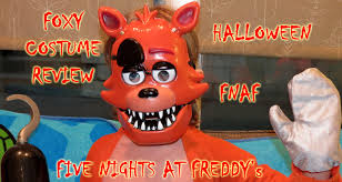 foxy costume foxy child costume unboxing review fnaf five