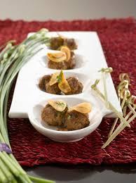 cuisiner l ail mini kefta de boeuf chips d ail l ail de la drôme