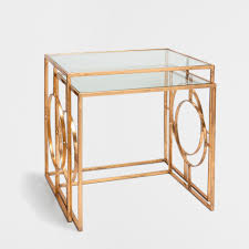 Zara Home Side Table Geometric Side Tables Set Of 2 Occasional Furniture Bedroom