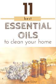 the best essential oils to clean your home organized motherhood