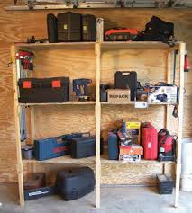 How To Build Garage Storage Shelving by Building Shop Shelves Extreme How To
