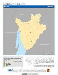 Burundi Map Map Gallery Sedac