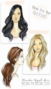 sketches of hair fabulous doodles fashion illustration blog by brooke hagel blow